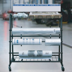 Rack Dispensador de Cobertores para Vehiculos